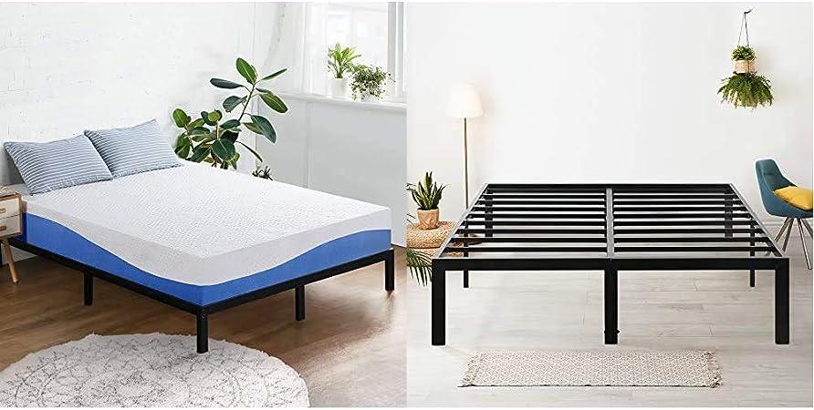 Amazon.com: Olee Sleep Aquarius 10 Inch Memory Foam Mattress in