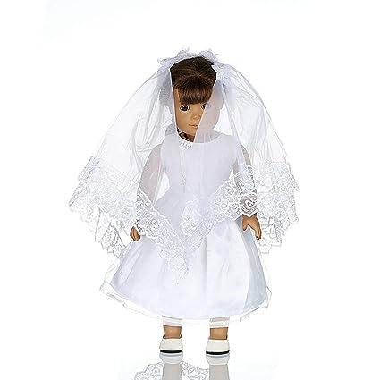 Amazon.com: lovelyelf ropa de muñecas para 18