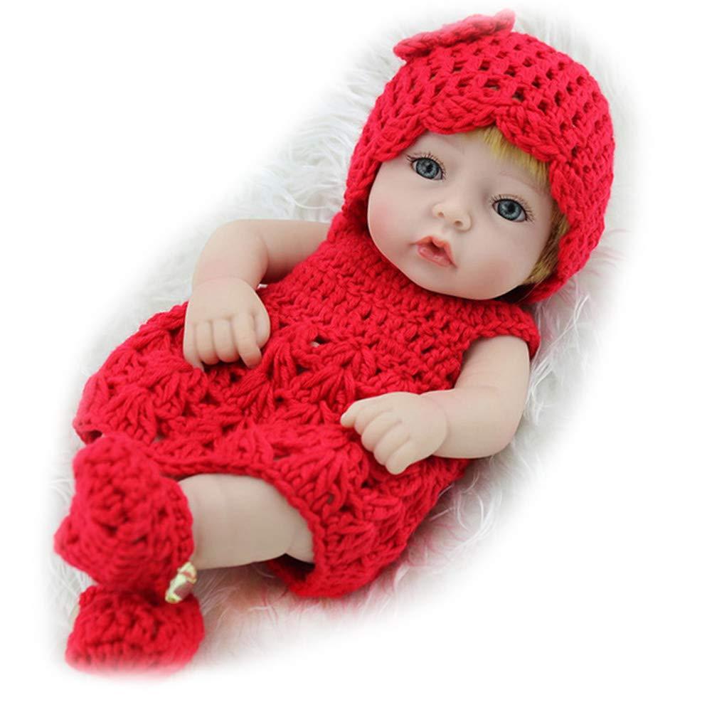 CHENG Reborn Baby Doll Weiche Simulation Silikon Vinyl 28 cm Magnetischen Mund Lebensechte Puppe Mit Augen Offen,Farbe1,28Cm B07K268CW8 Babypuppen Lassen Sie unsere Produkte in die Welt gehen | Feinbearbeitung