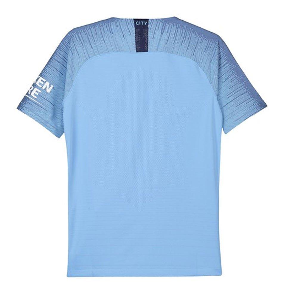 2018-2019 Man City Home Nike Football Soccer T-Shirt Jersey (Kevin De Bruyne  17) - Kids 3480933a1