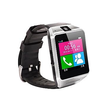 Aenmil GV08 Digital reloj inteligente 3,81 cm pantalla táctil inteligente teléfono celular Bluetooth pulsera