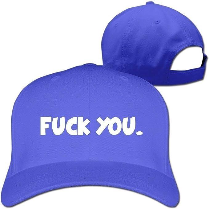 rongxincailiaoke MaNeg Fuck You Adjustable Hunting Peak Hat & Cap ...