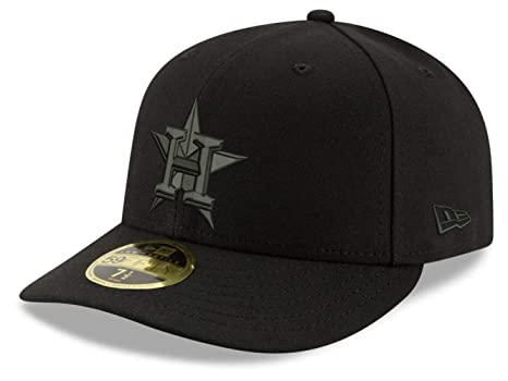 cheaper 07084 3c9da Image Unavailable. Image not available for. Color  Houston Astros Low  Profile Fitted Size 7 5 8 Hat ...