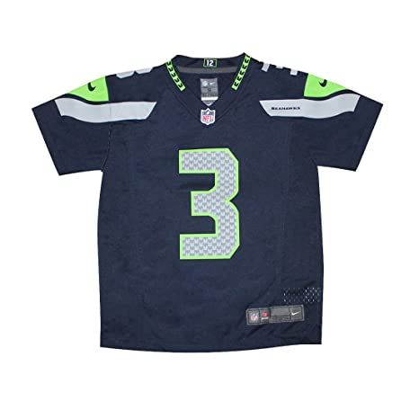 online store 2927d 2d6d9 Outerstuff Russell Wilson Seattle Seahawks Toddler Nike Game Jersey