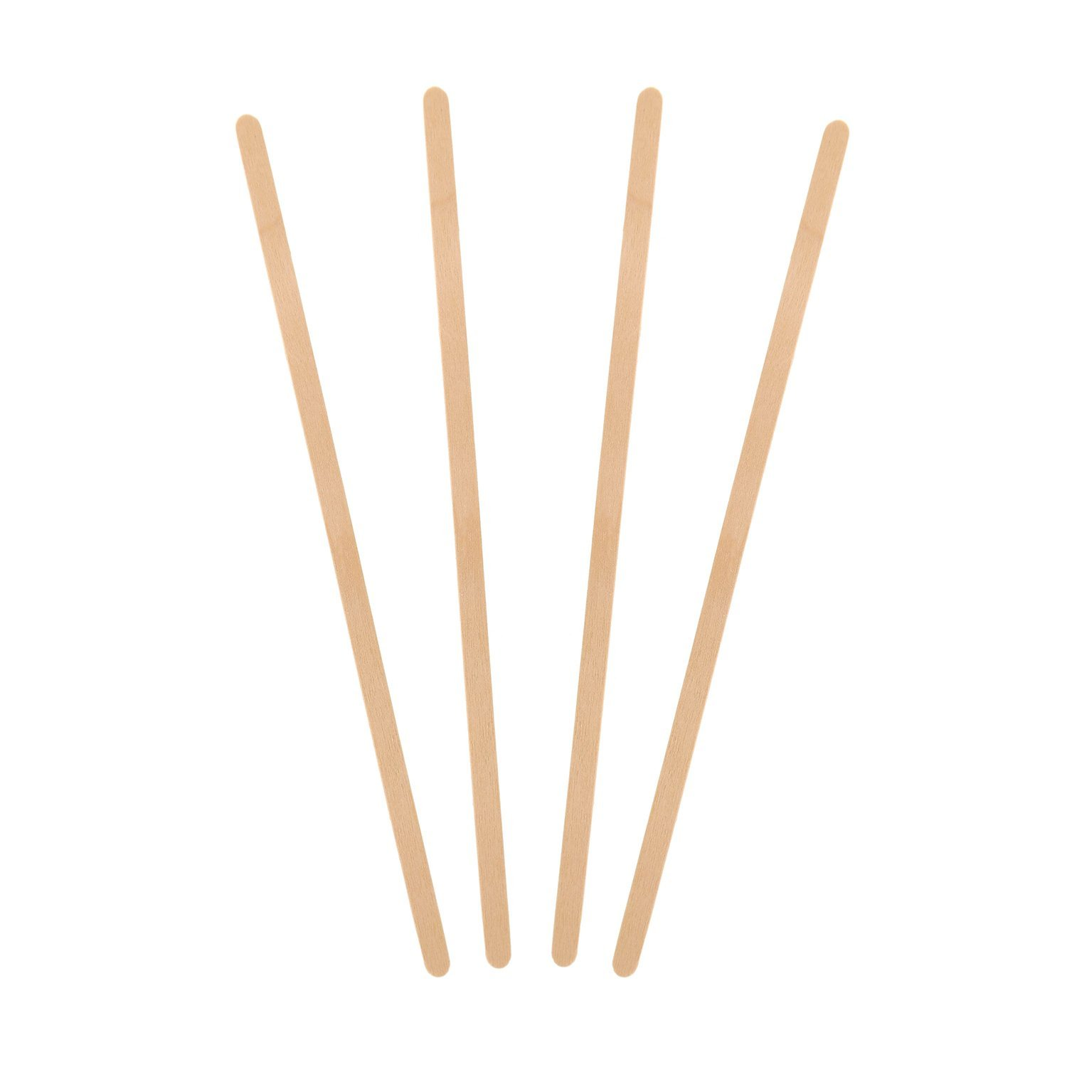 "Royal R825 7.5"" Wood Coffee Beverage Stirrers, Package of 500, 1 Box"