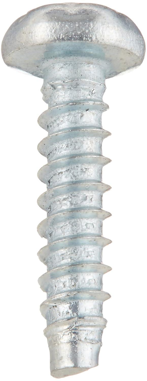 Steel Sheet Metal Screw Pan Head Zinc Plated #2-32 Thread Size Star Drive Pack of 100 Type B 3//8 Length