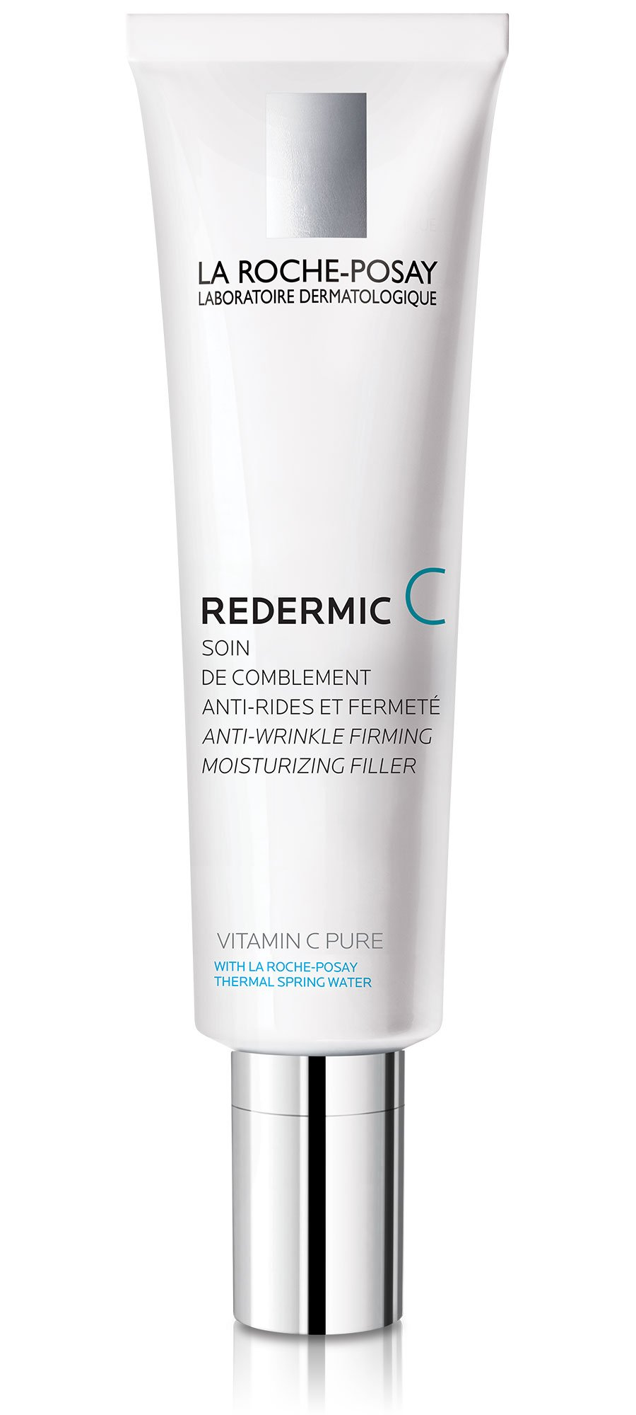 La Roche-Posay Redermic C Anti-Wrinkle Vitamin C Moisturizer with Pure Vitamin C & Hyaluronic Acid for Dry Skin, 0.5 Fl. Oz.