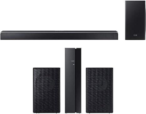 Samsung 370W Sistema de Barra de Sonido Virtual de 5.1.2 Canales con subwoofer inalámbrico (HWQ80R) SWA-9000S/ZA Barra de Sonido Envolvente Altavoz de casa (2 Unidades): Amazon.es: Electrónica