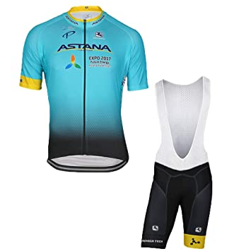 Wulibike Men s Cycling Jersey Set Short Sleeve Bike Jersey + Bike (Bib)  Shorts 3D Padded Breathable Quick Drying   Absorbent for Outdoor Sports  ... 1ce0a44c5
