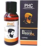 PHC Beard and Moustache Nourishing Oil - Coffee Herbal Beard Oil - 60ml