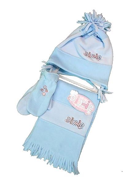ragazze set cappello guanti guanti e sciarpa in pile cosy 3 pezzi Set New  Nice 502f56209e4e