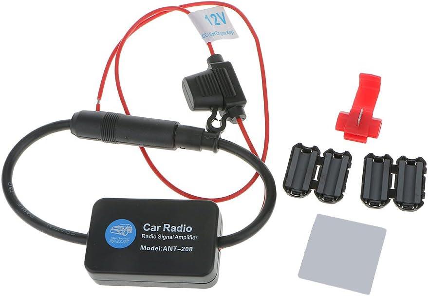 Amplificador de Señal Antena de Radio AM / FM para Automóvil Coche