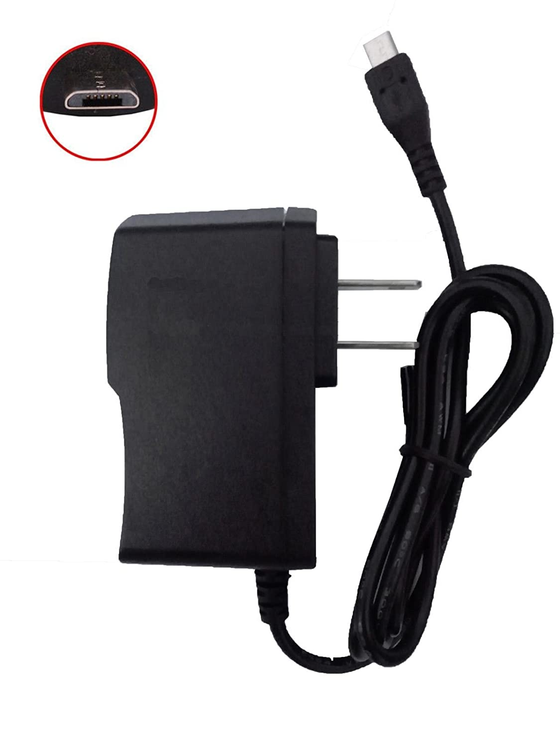 ACS micro USB AC Wall Charger Adapter for GREATCALL Samsung Jitterbug Touch 3 SM-G310R5