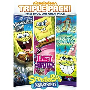 SpongeBob SquarePants Triple Feature: Last Stand / Triton's Revenge / Viking Sized Adventures (2017)