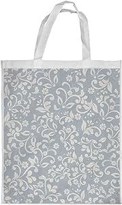 Flower motifs Printed Shopping bag, Large Size