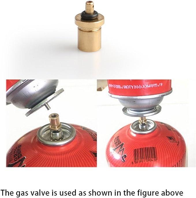 Válvula Gas botella camping Gas tanque Senderismo accesorios ...