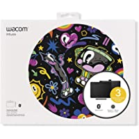 Wacom CTL6100WLK0 Wireless Graphic Tablet with 3 Free Creative Software Downloads, Corel Painter Essentials, Medium, Black