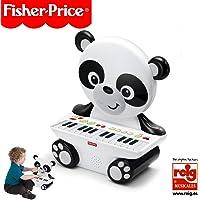 Fisher-Price Fisher-Price-KFP2522, Piano Panda, Jouet +2 Ans (Reig KFP2522), Blanc E Noir