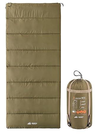 Semoo techo saco de dormir – ligero compacto Saco de dormir ideal para Primavera y Verano