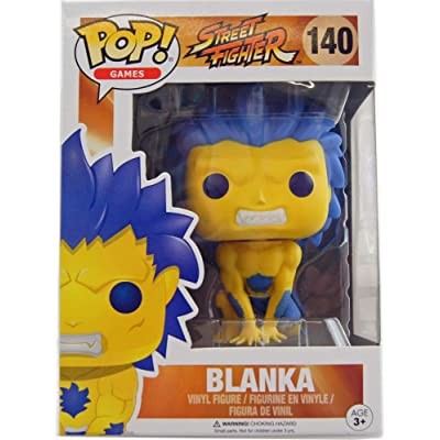 Pop! Games: Street Fighter - Blanka Yellow Limited #140 Vinyl Figure: Toys & Games