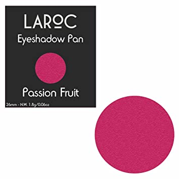 c4b455b68 LaRoc Shadow Bed Magnetic Makeup Single Pan Refill Eyeshadow - Passion  Fruit - 26mm: Amazon.co.uk: Beauty