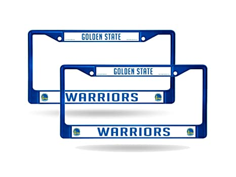 Amazoncom Rico Golden State Warriors Blue Painted Chrome Metal 2