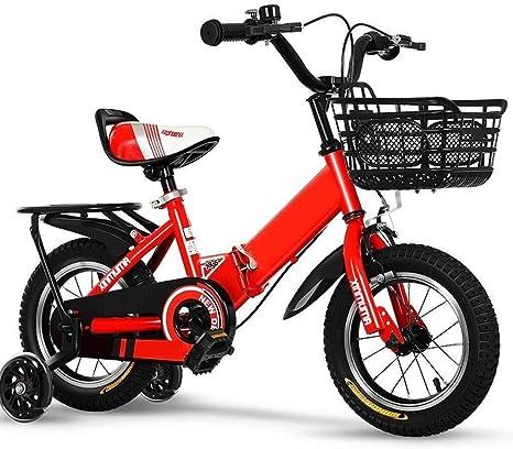 Rong 2 Bicicletas Año de Bicicletas niño de 3-4-5-6 años Niño Niña ...