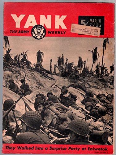 Breakdown Cover - Yank 3/31/1944-Army Weekly-Sad Sack-Invasion cover-mental breakdowns-VG