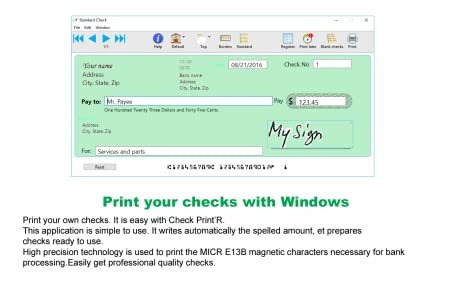 Print checks easily from your PC or Windows tablet [Download]