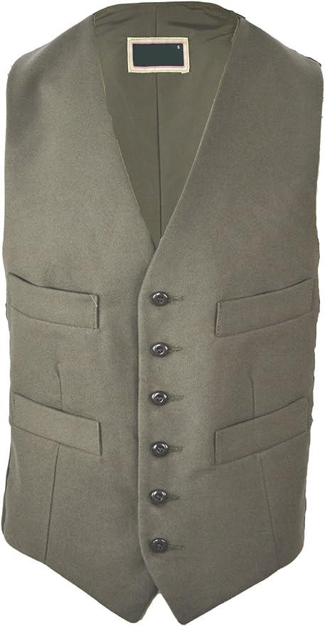Harvey Parker Cobham Mens Smart Tailored Country Moleskin Waistcoat