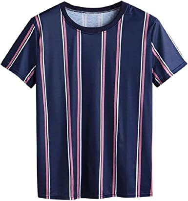 DEELIN Camiseta para Hombre Camisetas Manga Corta Top Moda de ...