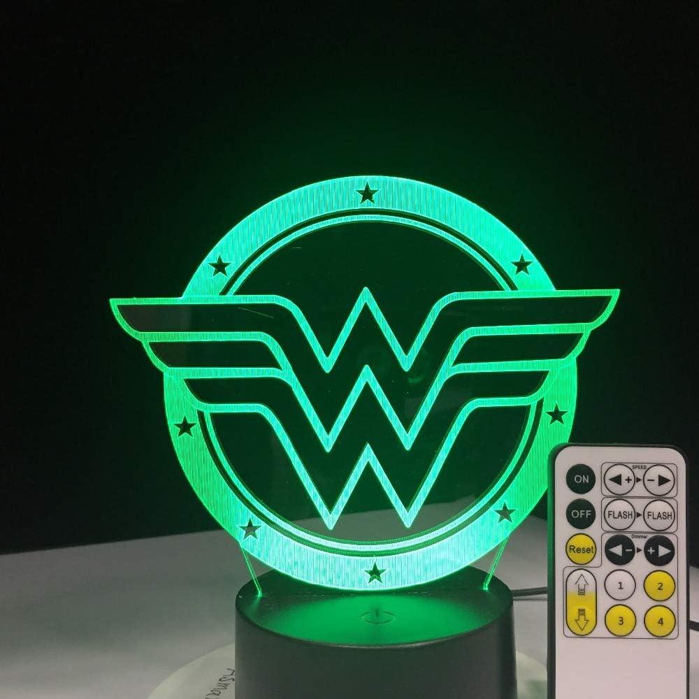 Novedad fantasía lámpara lámpara de Mesa luz Nocturna Tipo de luz de Cambio de Color con Control Remoto selección táctil