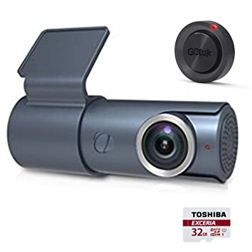 Goluk T3 Cámara para Coche Mini Covert Coche Wifi Dashcam HD 1080P 141°Lente Gran
