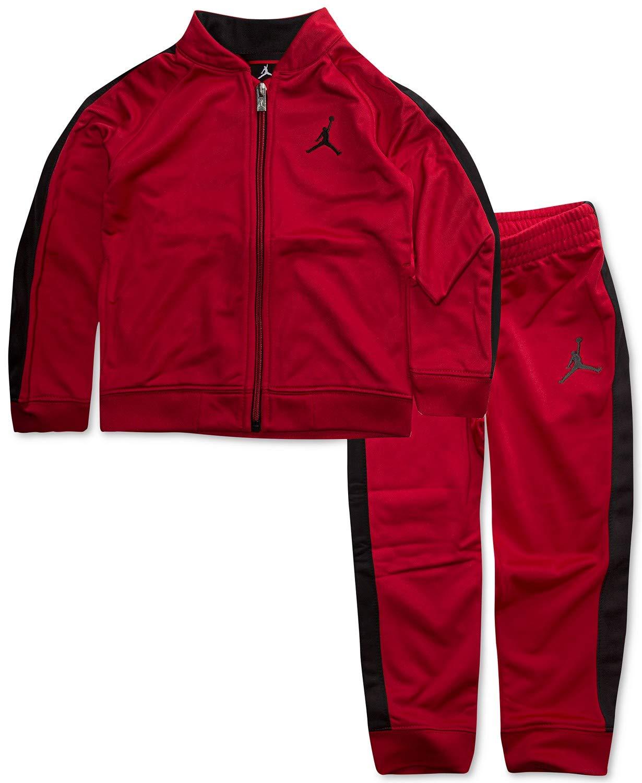 3cba73707c5 Galleon - Nike Jordan Jumpman Boy Jacket Tracksuit Pants Outfit Set, Size 7