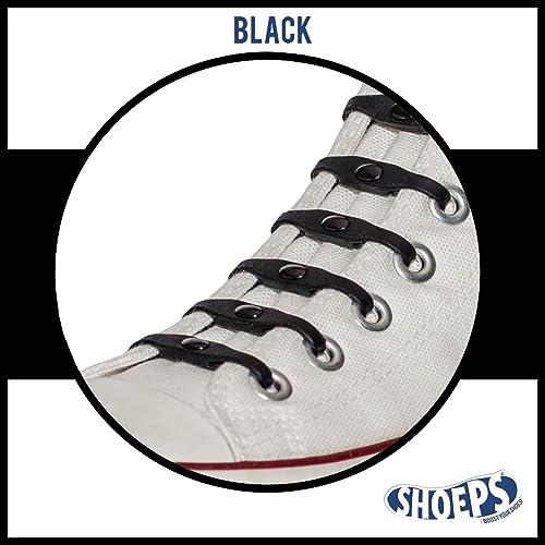 af6e5f695ecb91 Amazon.com  Shoeps Elastic Laces (Black)  Shoes