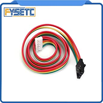 Amazon com: Zamtac 2pcs 1M NAMA17 42 Stepper Motor Cables