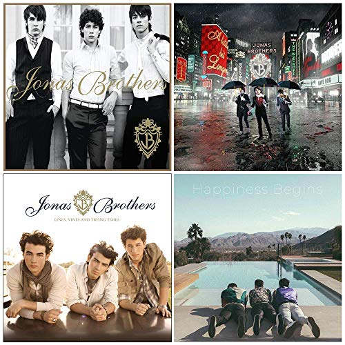 Jonas Brothers: Studio Album Collection - 4 CDs (Self Titled / A Little Bit Longer / Lines, Vines and Trying Times / Happiness Begins)