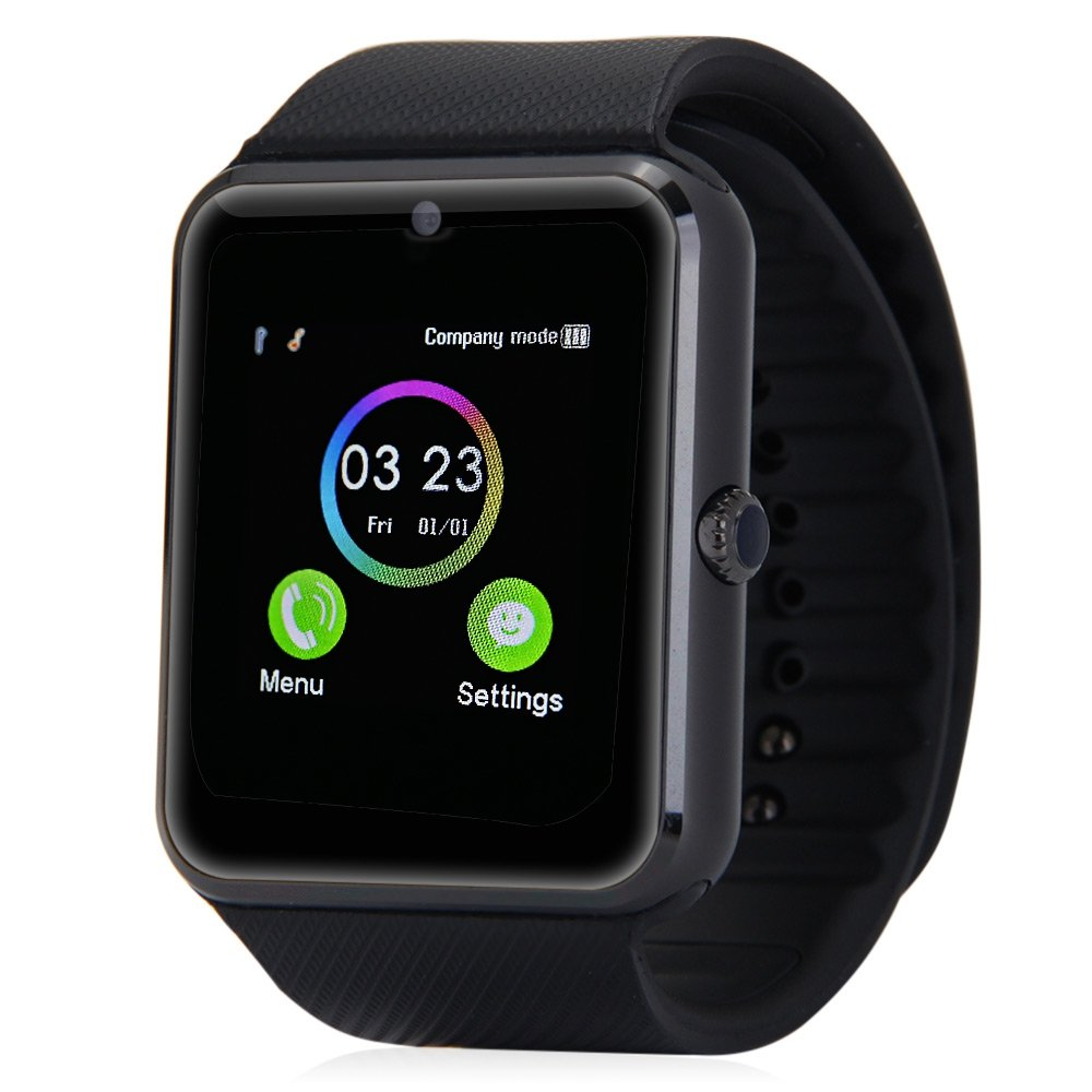Bluetooth Smart Watch, Aosmart G88 Smartwatch for Android Smartphones (Black)