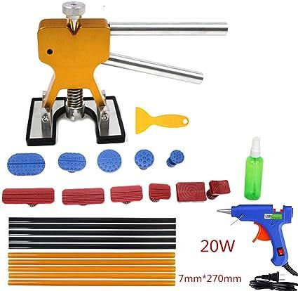 11pcs Paintless Dent Repair Auto Dent Repair  Removal Tools Down Hammer Hail