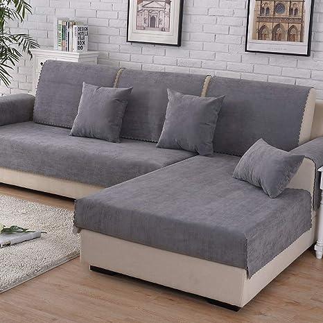 Amazon.com: Funda de sofá impermeable de piel antideslizante ...