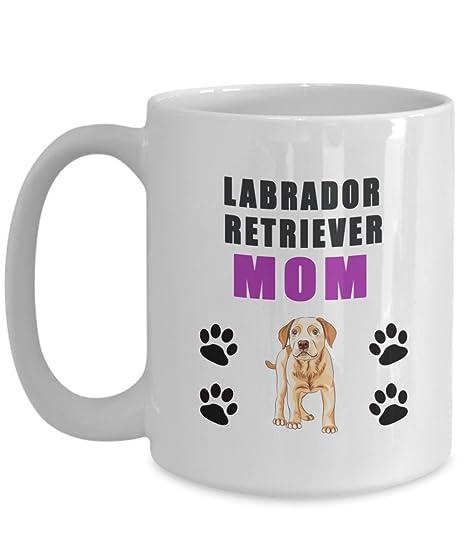Amazon.com: Labrador Retriever mamá taza – mamá regalos ...