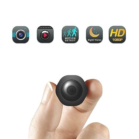C-Xka Mini cámara espía/Oculta - Cámara de niñera: Amazon.es: Electrónica