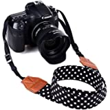 Dirky Camera Strap morbida durevole universale tracolla cinghia fotocamera per Canon Nikon Pentax Sony ecc.
