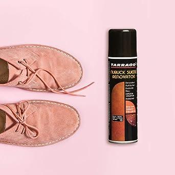 Tarrago | Nubuck Suede Renovator 250 ml | Spray Impermeabilizante | Renovador para Zapatos, Bolsos, Textil, Ante y Nubuck | Waterproof - Resistente al ...