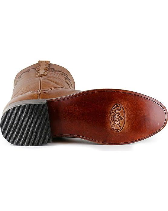 Amazon.com | El Dorado Mens Handmade Embroidered Western Boot Round Toe - Ed1151 | Western