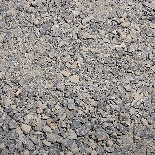Southwest Boulder & Stone Landscape Decomposed Granite | 20 Pounds | Natural, Crushed Rock Fines Ground Cover for Landscaping, Gardening, Pathways, and More (Graphite Gray)