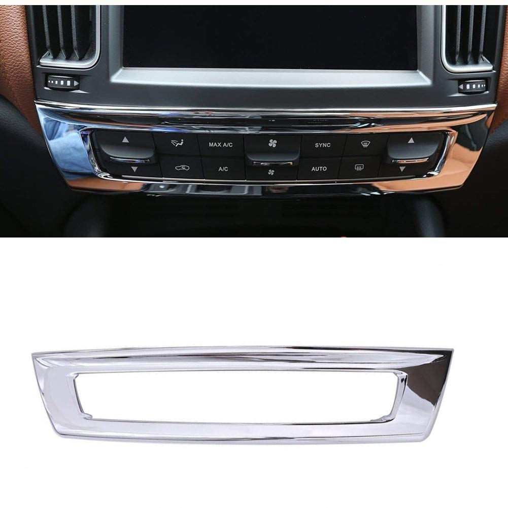 car-styling ABS cromata modalità di controllo interno decorazione centrale accessori Frame cover Trim adesivi per 2016 Luxuqo