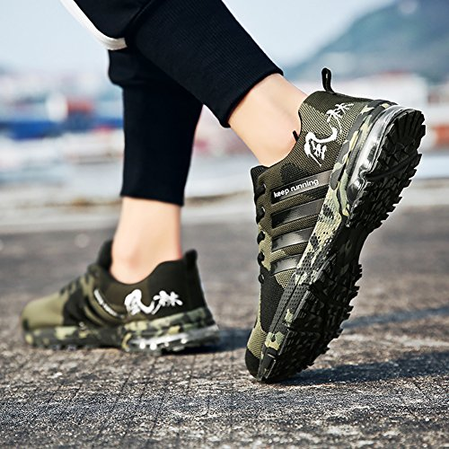 Air Running EMMARR Sneakers Athletic Womens Walking Green Shoes Cushion Road Casual Outdoor RqT5qAw