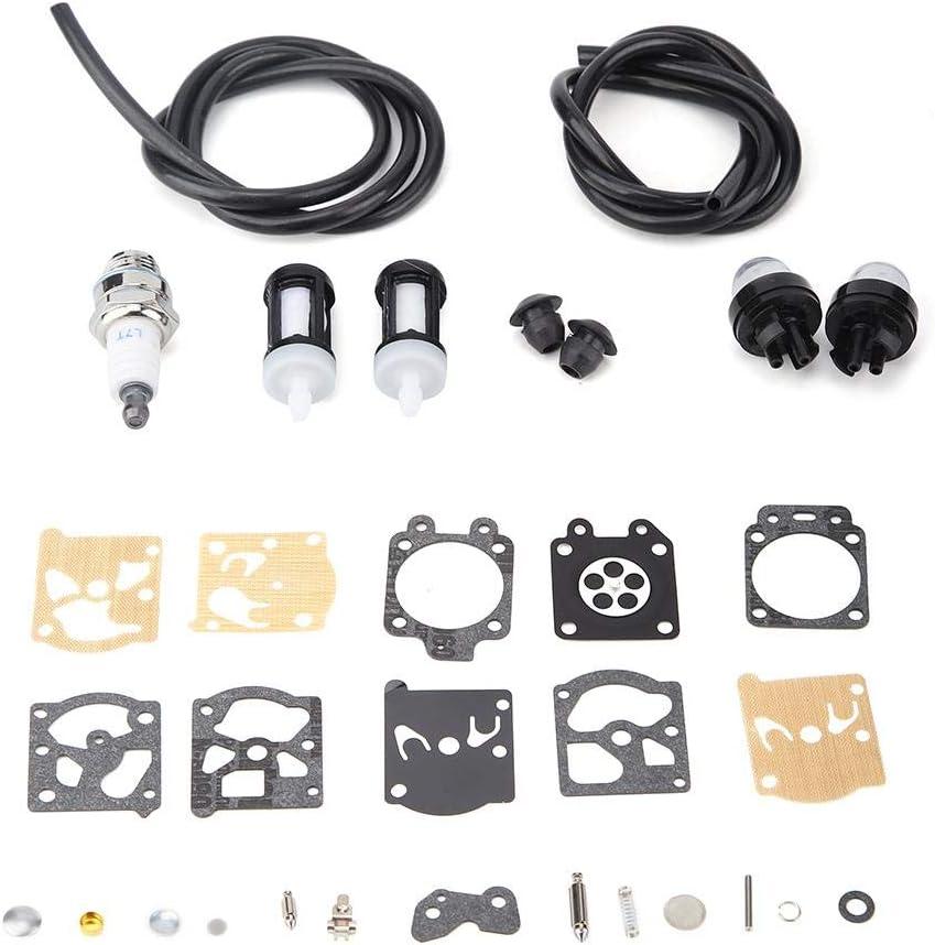 Pasamer Kit Riparazione Carburatore,Kit Filtro Riparazione Carburatore Adatto per Sostituzione Tagliaerba Stihls Fs36 Fs40 Fs44