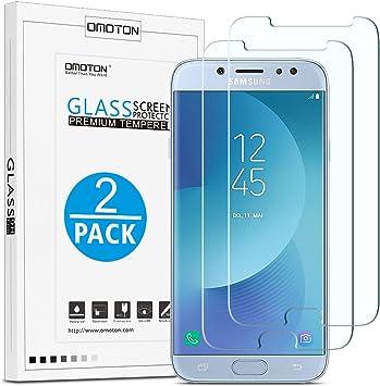 OMOTON Samsung Galaxy J7 2017 Protector de Pantalla [5.5 Pulgadas ...